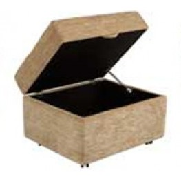 Storage Footstool/ Pouffee