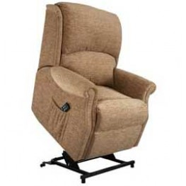 Regent Single Motor Lift & Tilt Recliner Chair Zero VAT - STANDARD