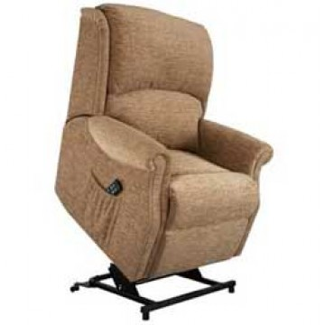Regent Single Motor Lift & Tilt Recliner Chair Zero VAT - PETITE