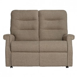 Sandhurst Dual Power Reclining 2 Seater Sofa