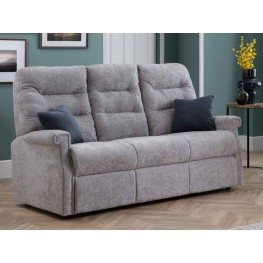 Sandhurst Dual Power Reclining 3 Seater Sofa