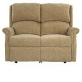 Regent Single Motor Power Reclining 2 Seat Settee